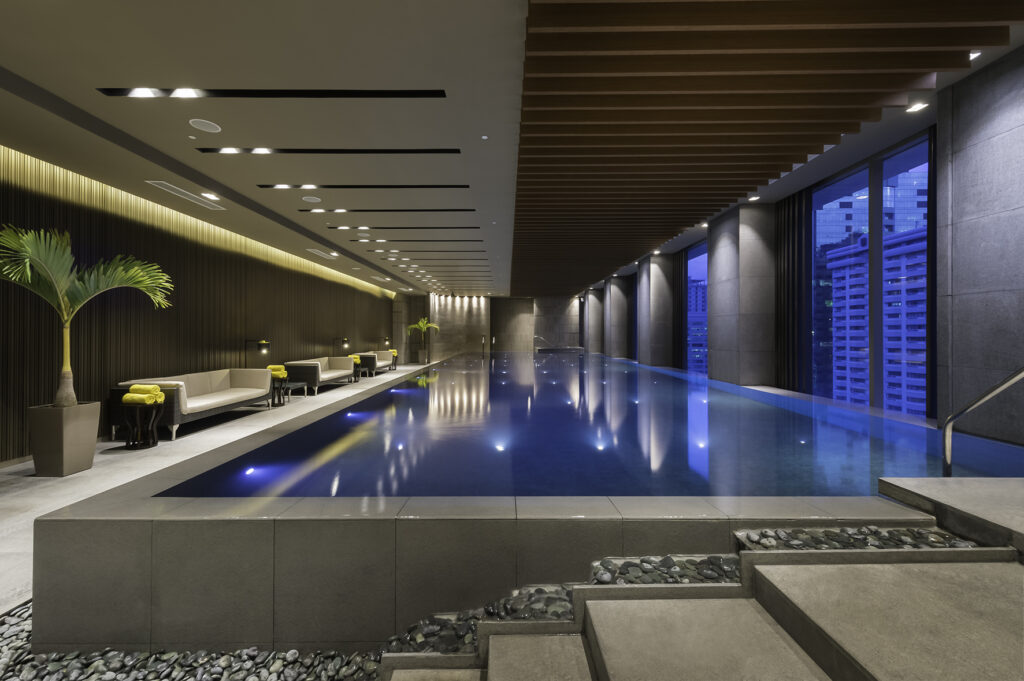 Take a dip at the hotel pool - photo courtesy of Marco Polo Ortigas