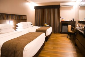 One of 48 well-appointed guest rooms